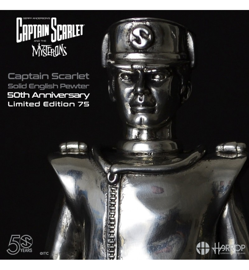 Captain Scarlet (Pewter) 50th Anniversary