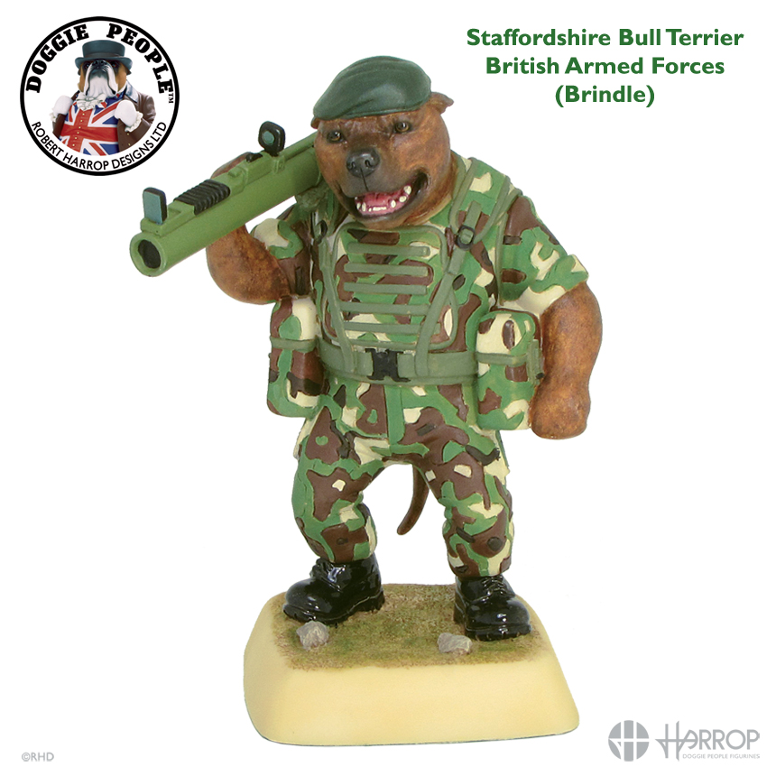 Staffordshire Bull Terrier - British Armed Forces