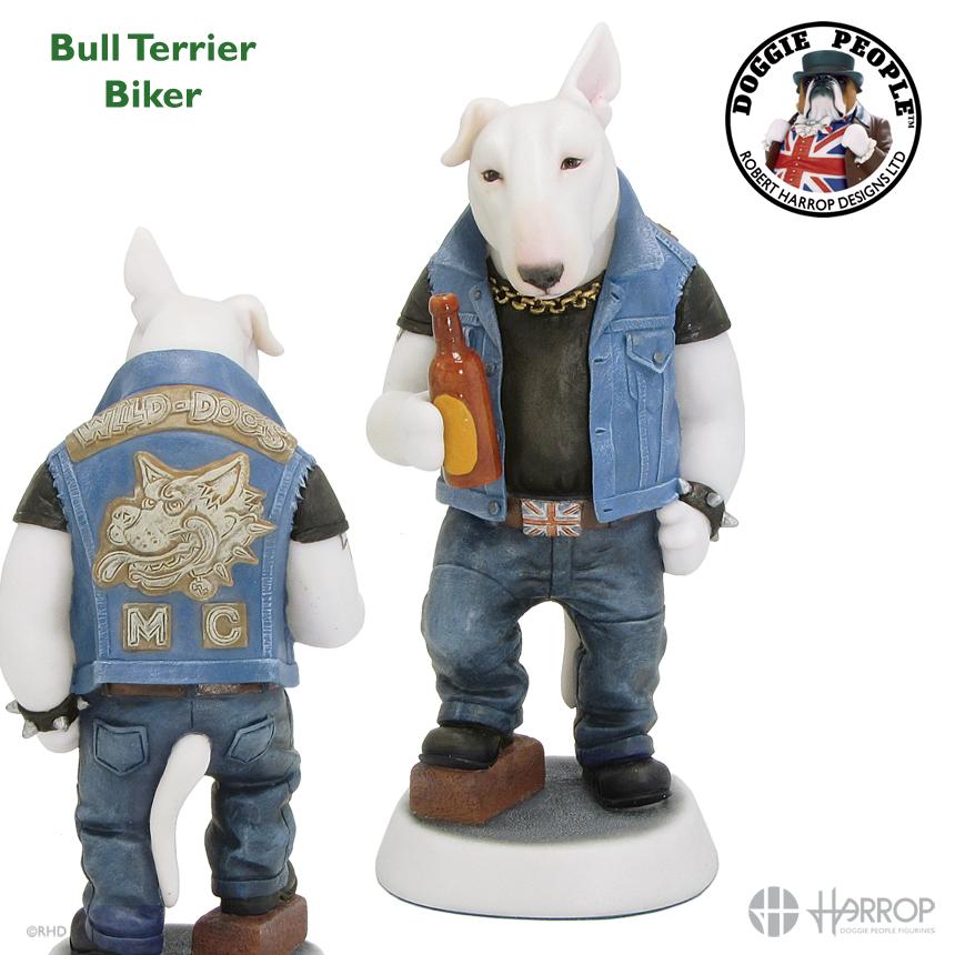 Bull Terrier - Biker