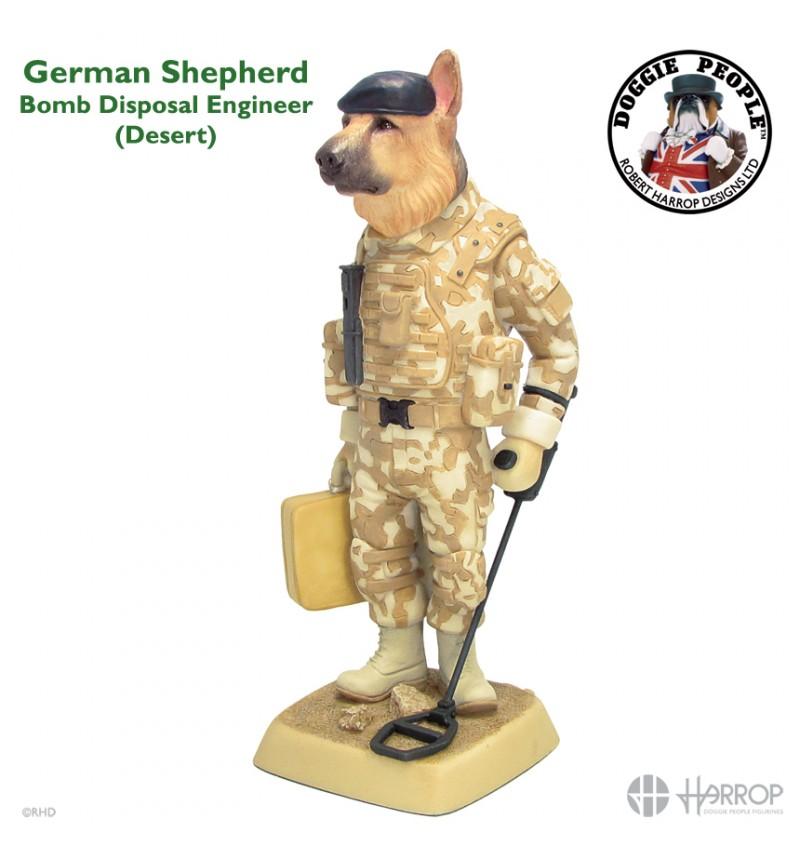 German Shepherd - Bomb Disposal Engineer