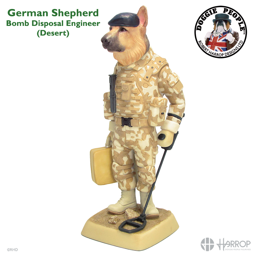 German Shepherd - Bomb Disposal Engineer