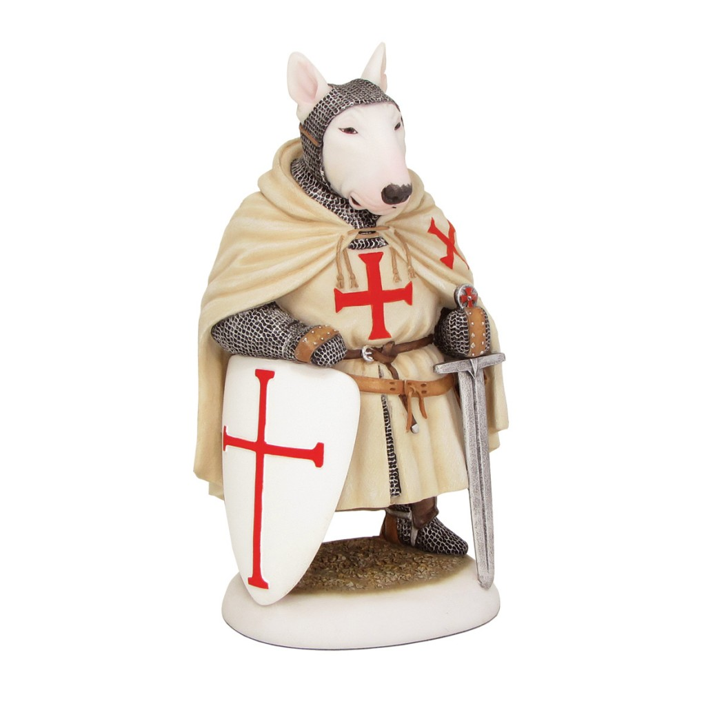 English Bull Terrier Templar Knight