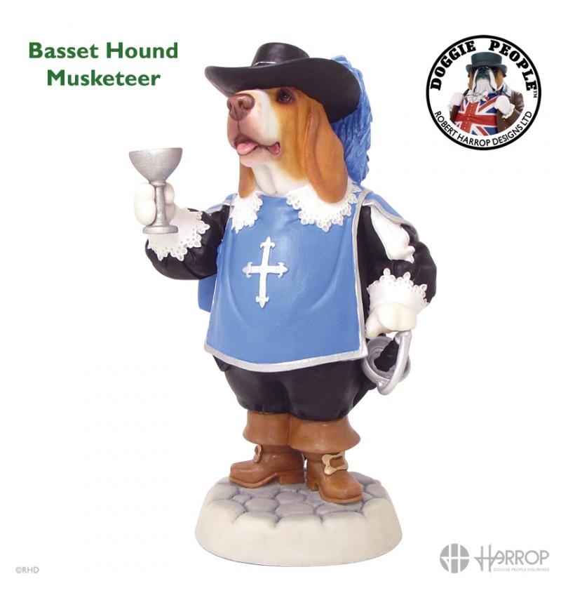 Basset Hound - Musketeer