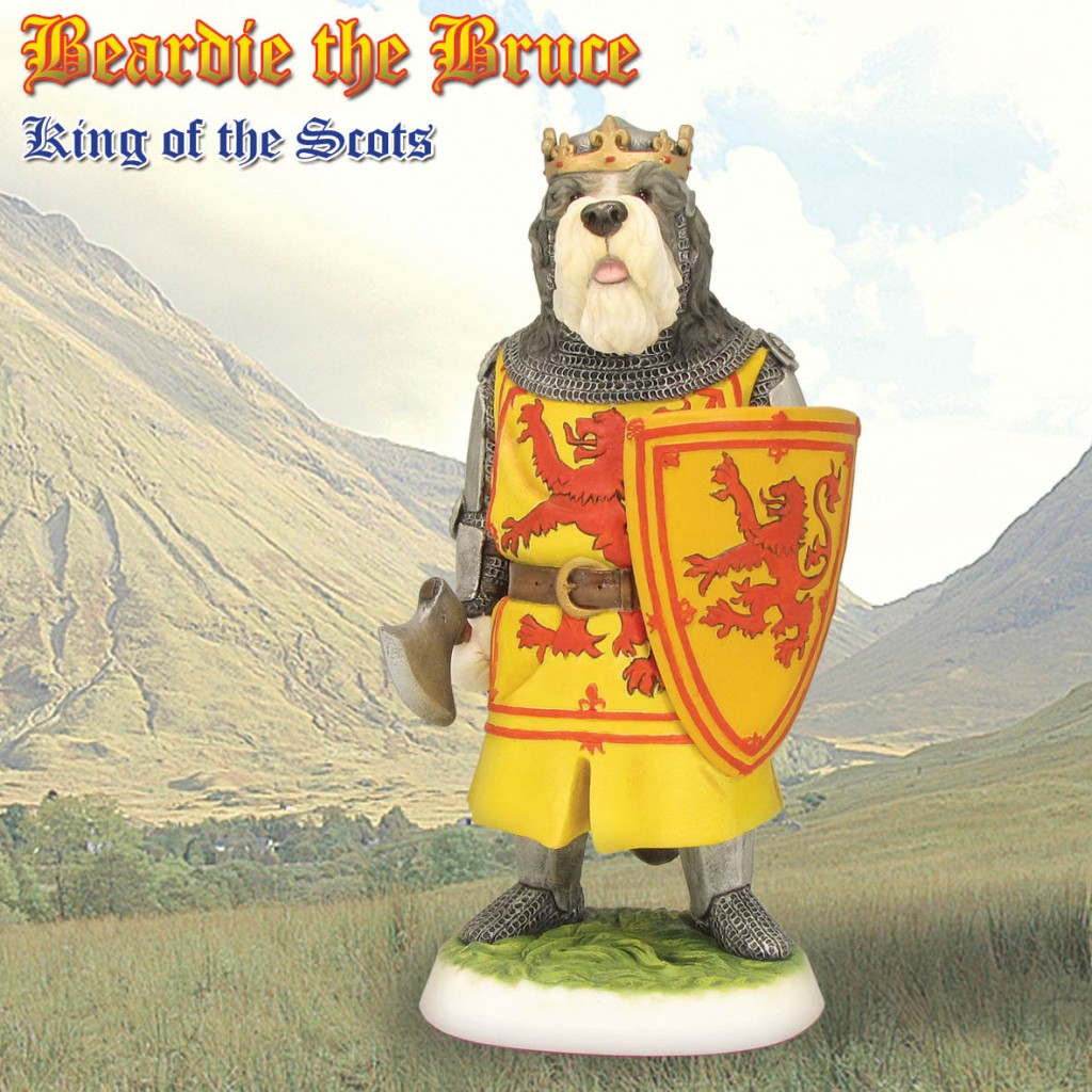 Bearded Collie - Robert the Bruce