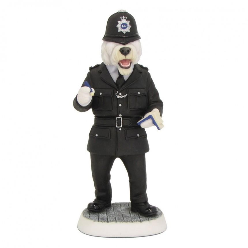 Old English Sheepdog - Policeman