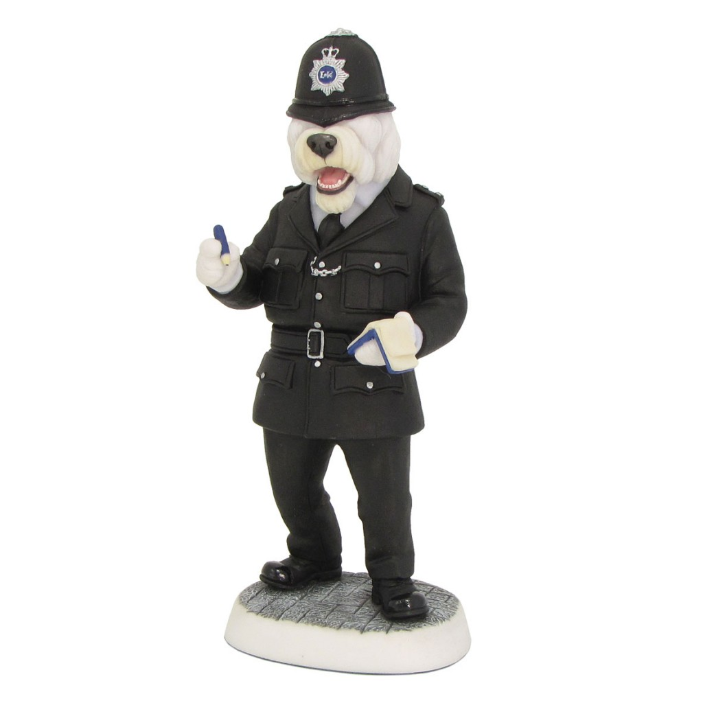 Old English Sheepdog - Policeman