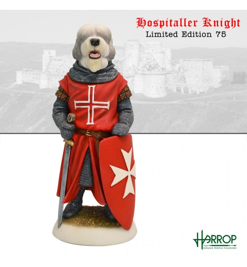 Old English Sheepdog - Hospitaller Knight