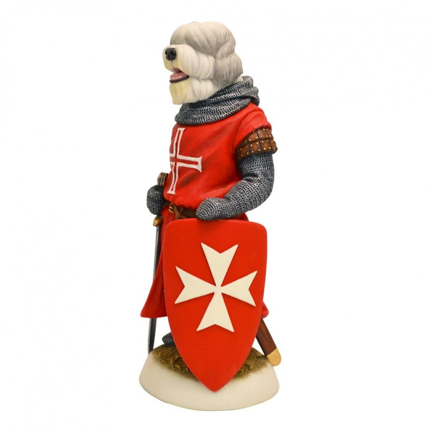 Old English Sheepdog - Hospitaller Knight