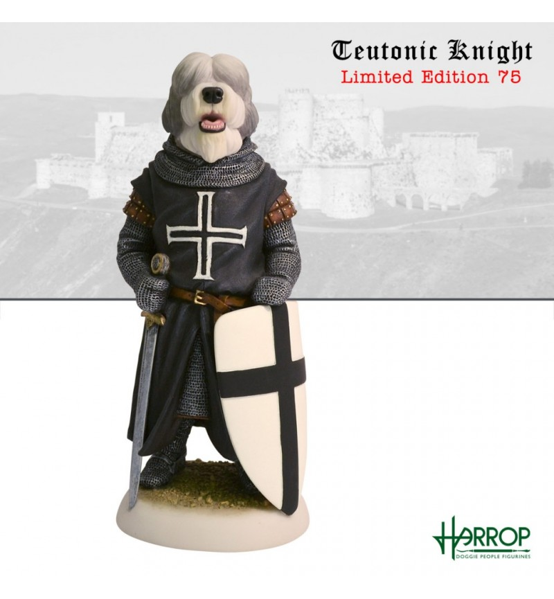 Old English Sheepdog - Teutonic Knight - Limited Edition 75