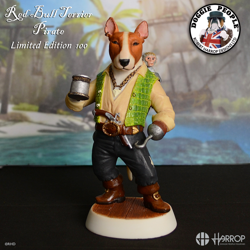 Red Bull Terrier - Pirate