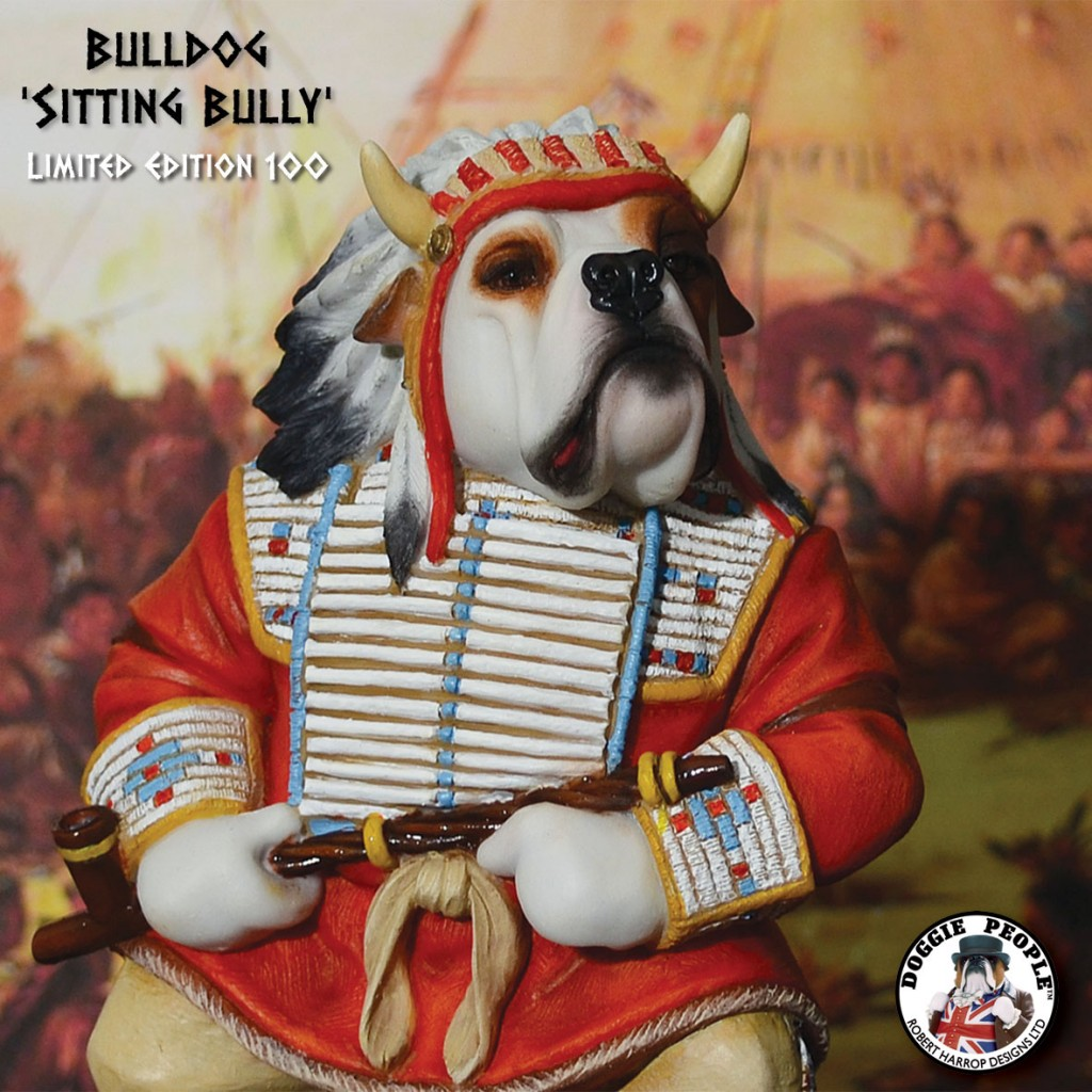 BULLDOG - SITTING BULLY (LE 100)