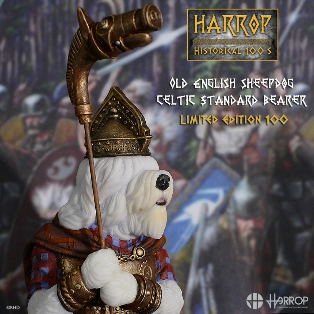 Old English Sheepdog - Celtic Standard Bearer