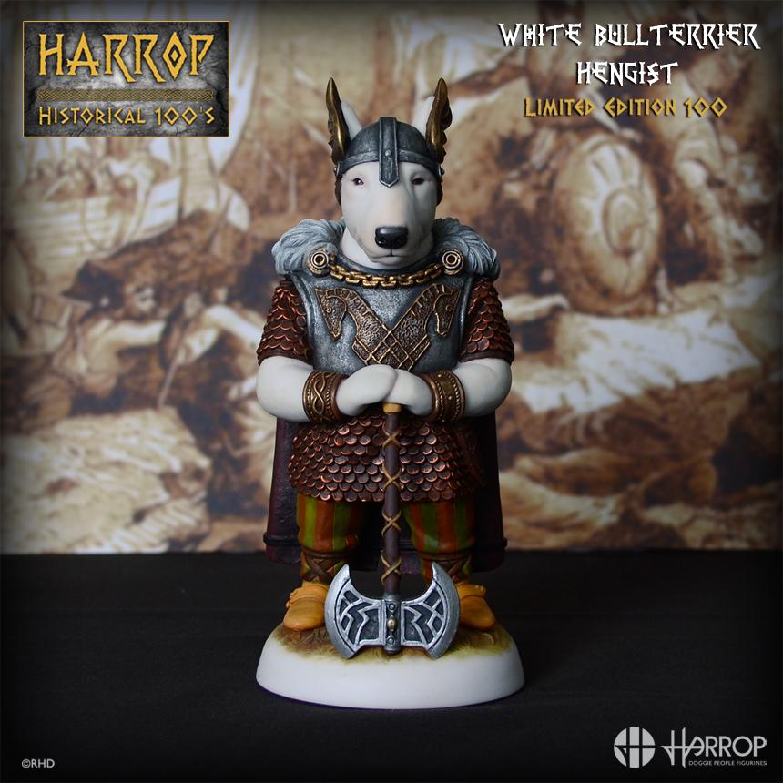 White Bull Terrier – Hengist – L E 100