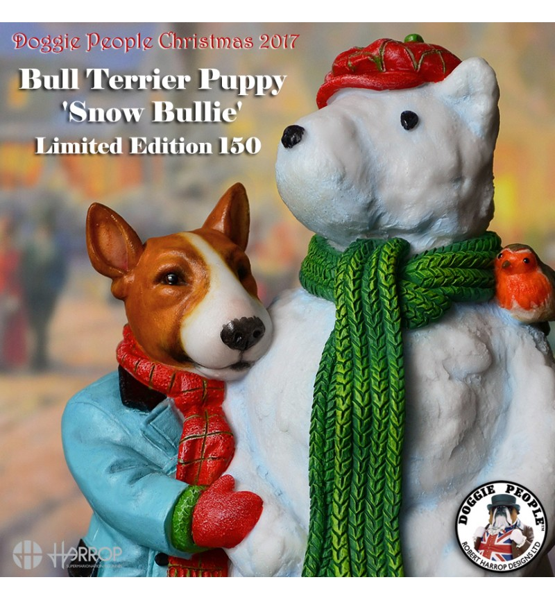 Bull Terrier Puppy - Christmas L.E. 150