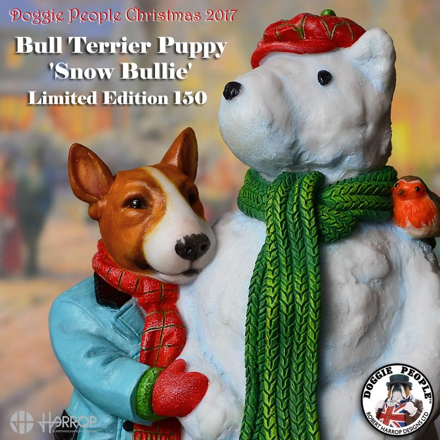 Bull Terrier Puppy - Christmas L.E. 150