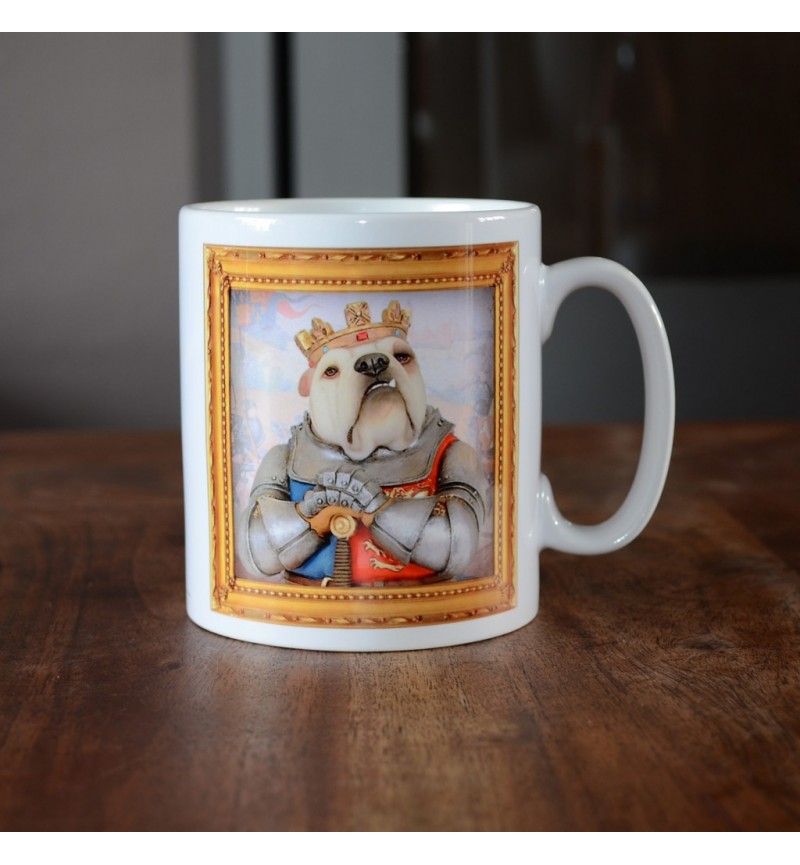 Bulldog - King Henry V - Coffee Mug