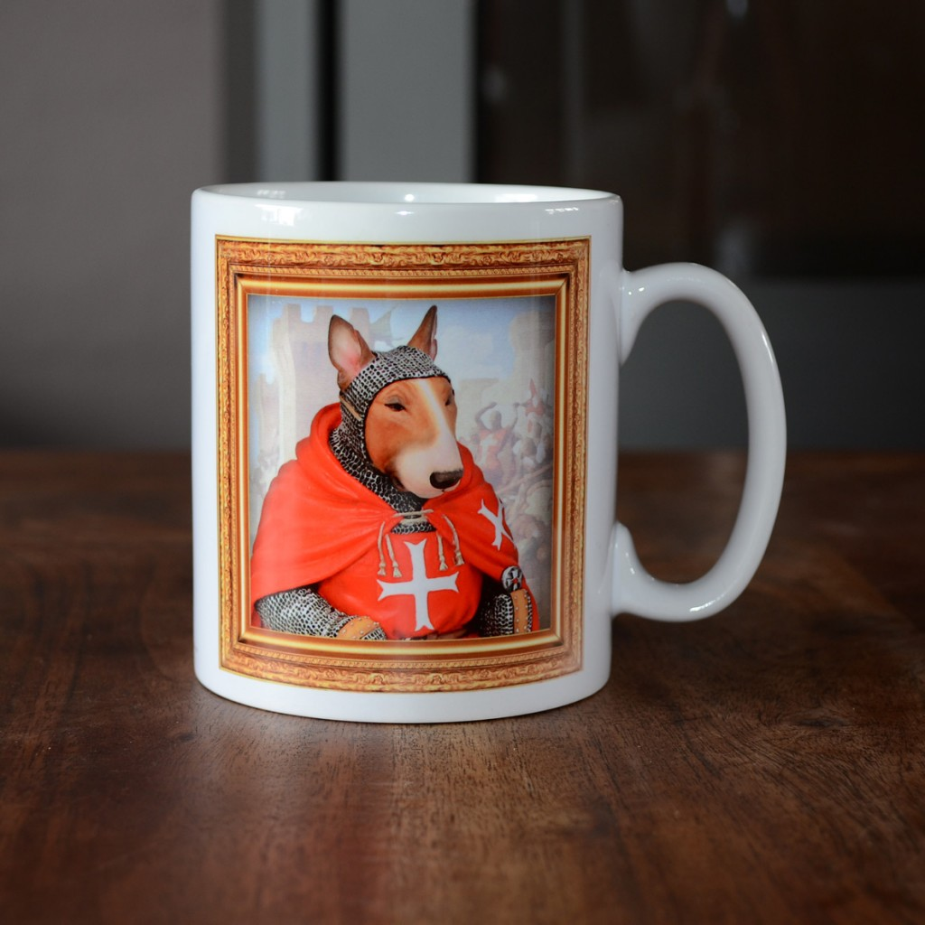Bull Terrier - Hospitaller Knight