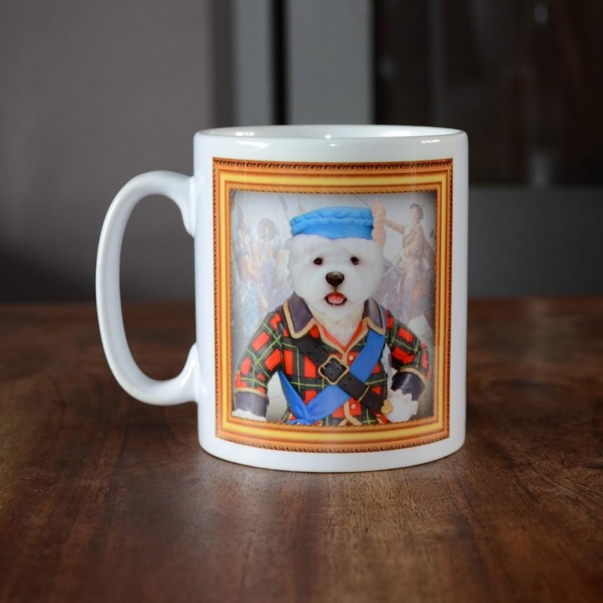 West Highland Terrier - Bonnie Prince Charlie - Coffee Mug