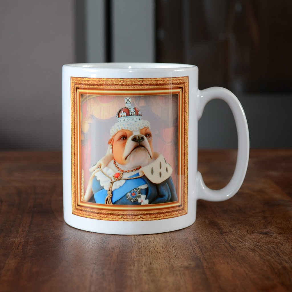 Bulldog - Queen Victoria - Coffee Mug