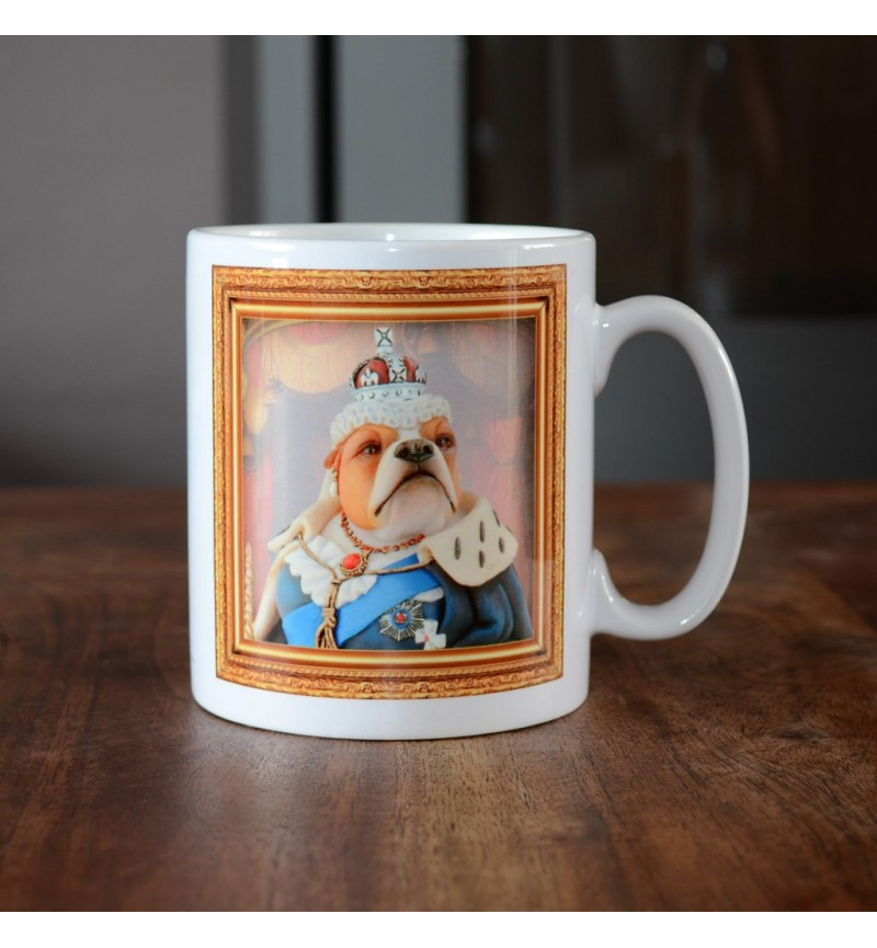 Bulldog - Queen Victoria - Coffee Mug