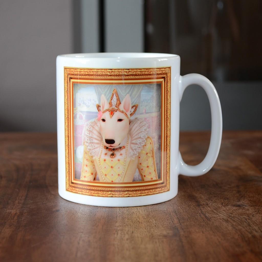 Bull Terrier - Queen Elizabeth I - Coffee Mug