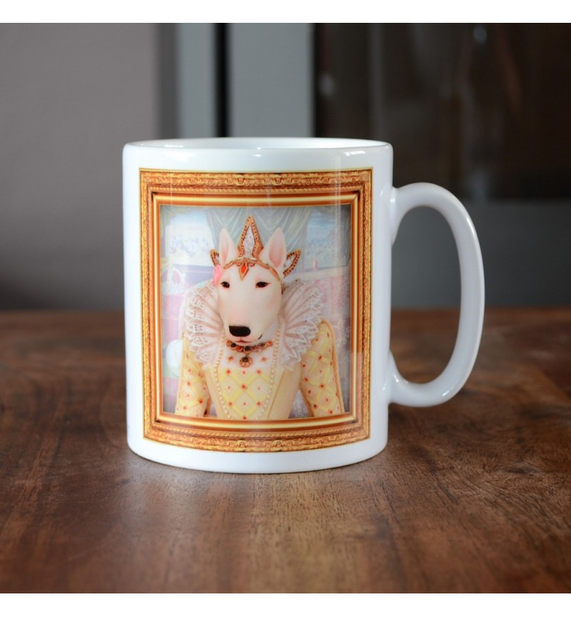 Bull Terrier - Queen Elizabeth I - Coffee Mug