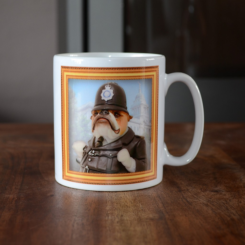 Bulldog - Policeman - Coffee Mug