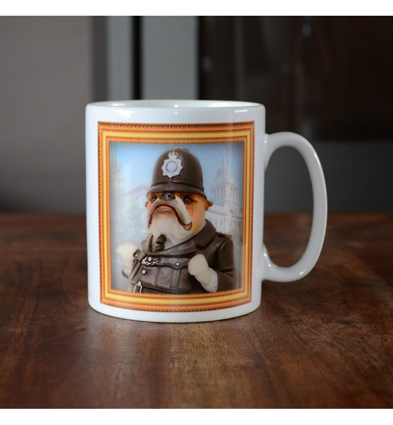 Bulldog - Policeman - Coffee Mug