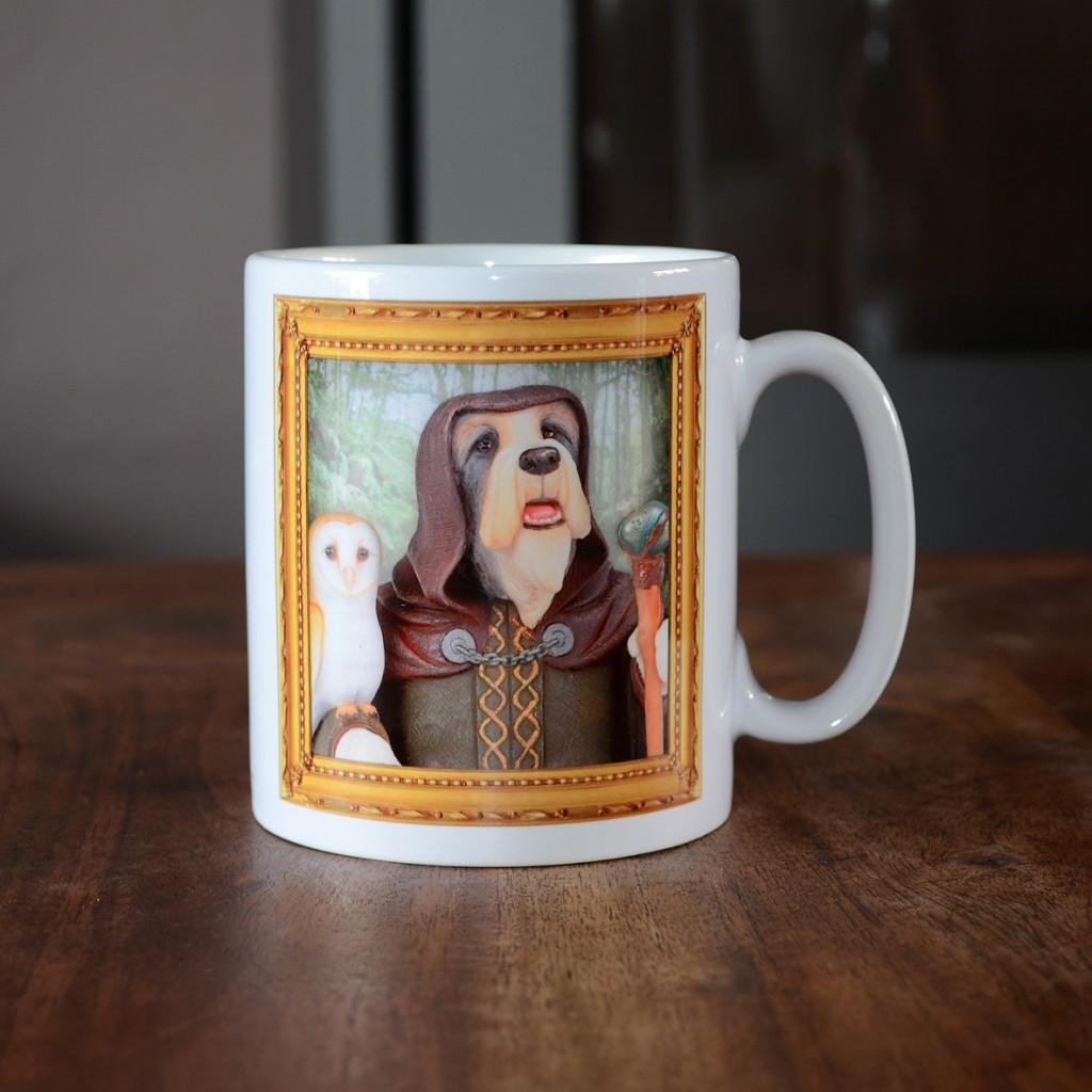 Bearded Collie - Merlin - Coffee Mug