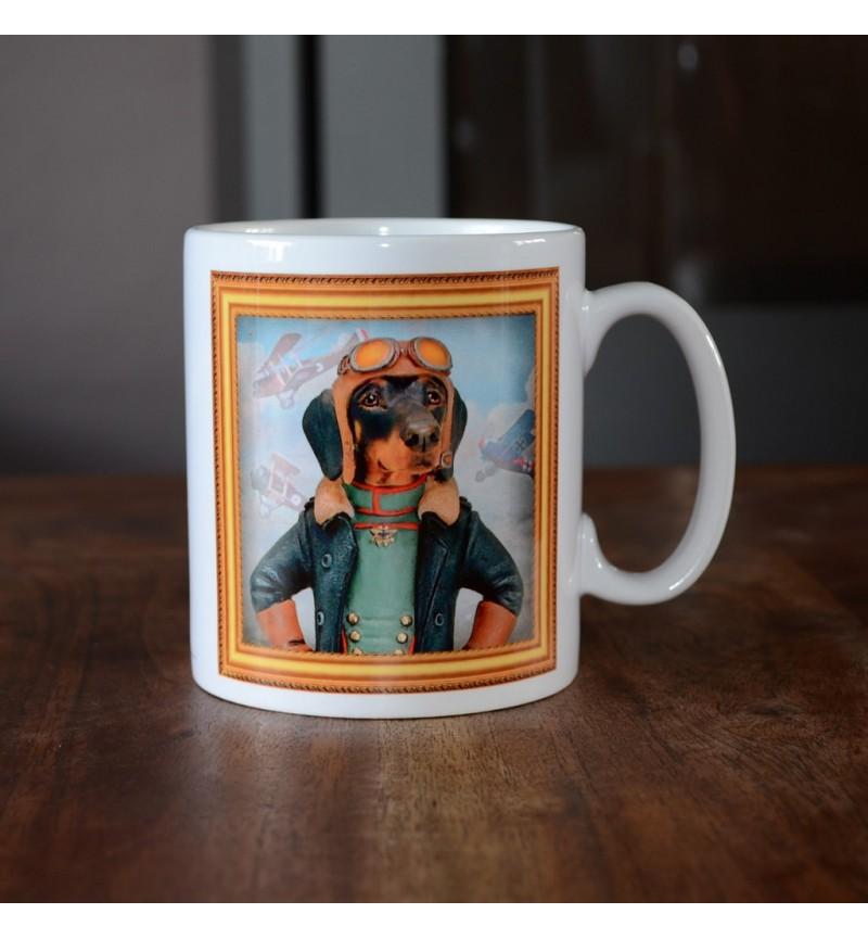 Dachshund - Aviator - Coffee Mug