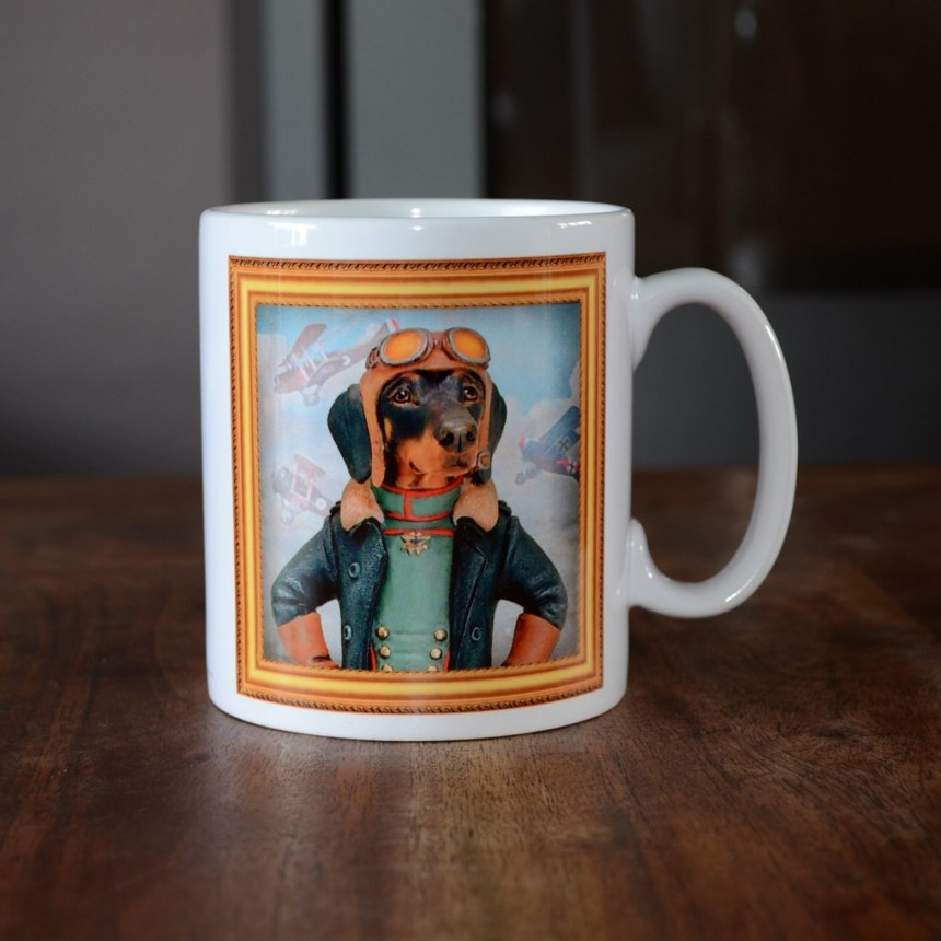Dachshund - Aviator - Coffee Mug