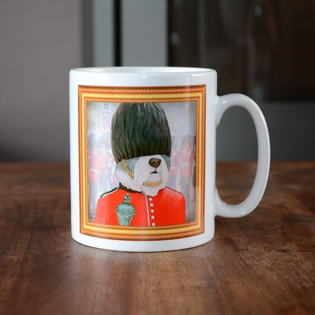 Old English Sheepdog - Grenadier Guard - Coffee Mug