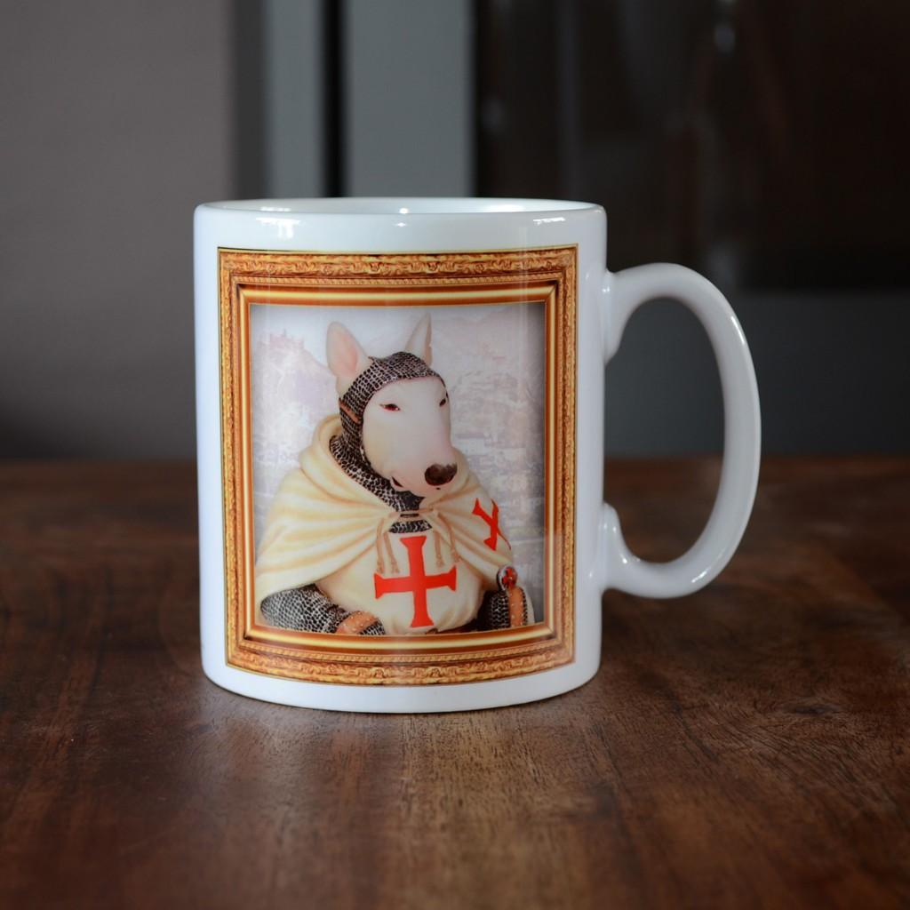 Bull Terrier - Templar Knight - Coffee Mug
