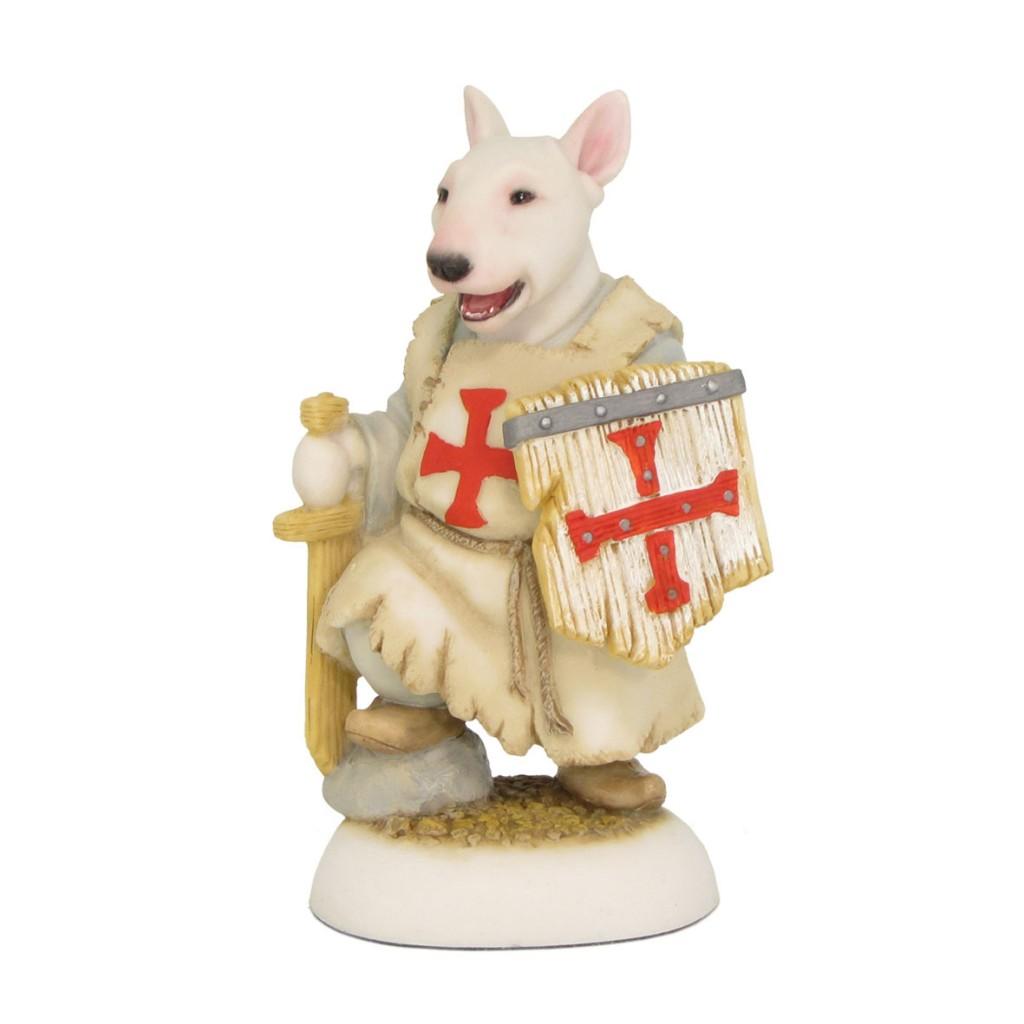 Bull Terrier Puppy - Knight's Apprentice (Templar)