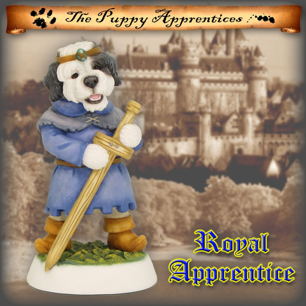Old English Sheepdog Puppy - Royal Apprentice