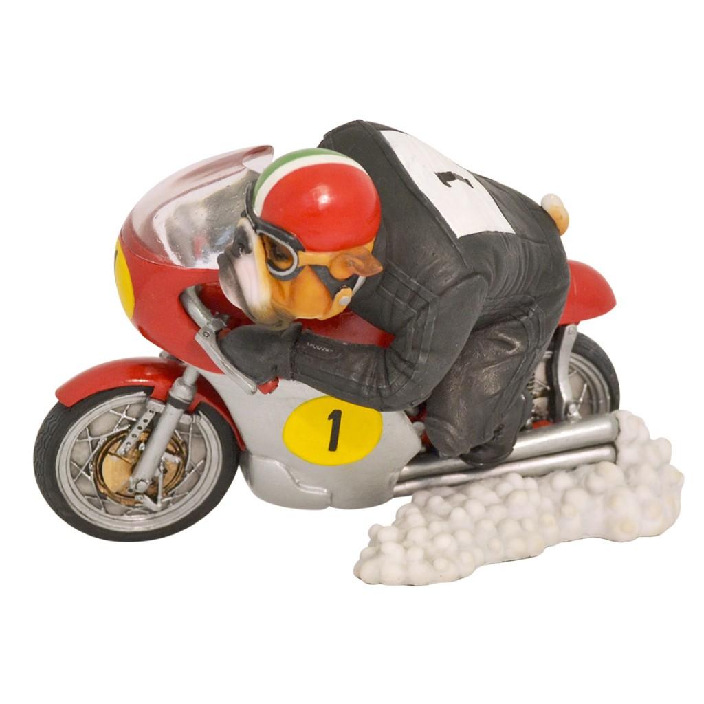Bulldog - Motorcycle Racer 'Agostini'