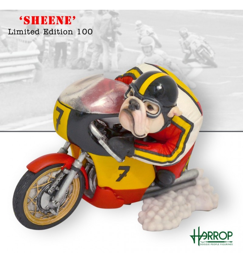 Bulldog - Motorcycle Racer 'Sheene'