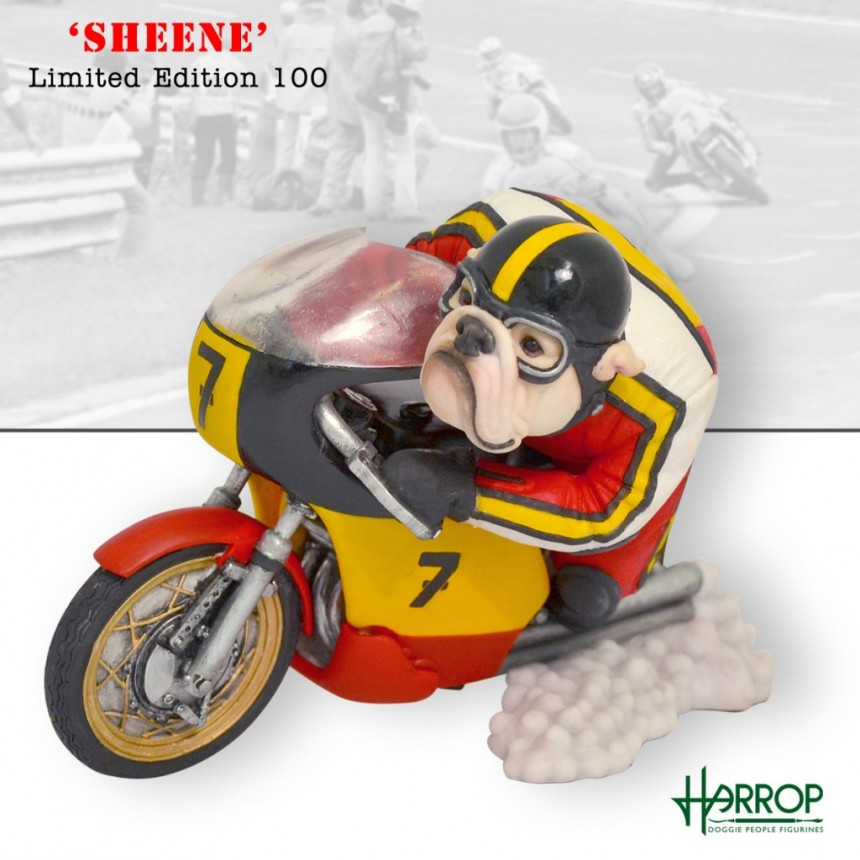 Bulldog - Motorcycle Racer 'Sheene'
