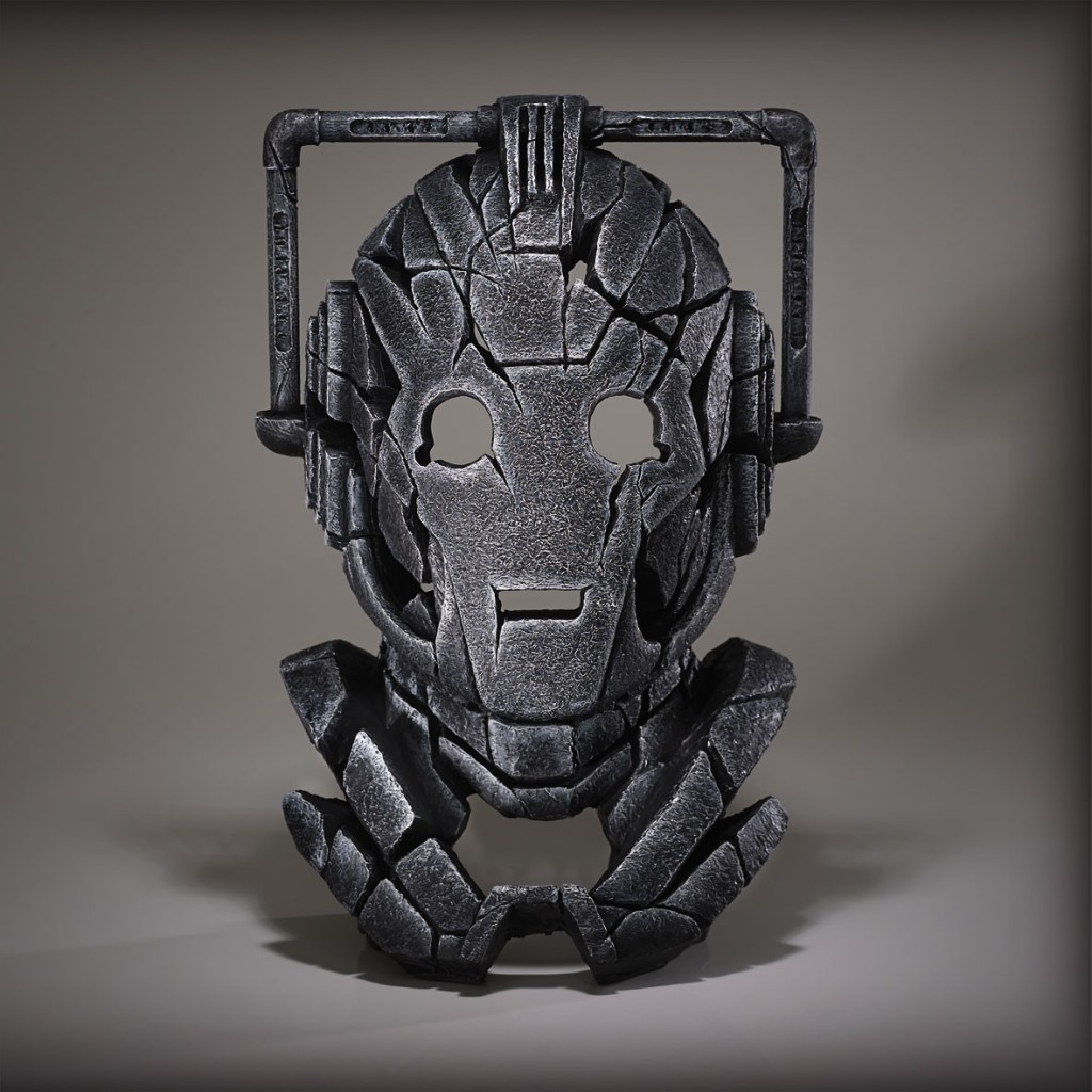 Cyberman Bust - Edge Sculpture
