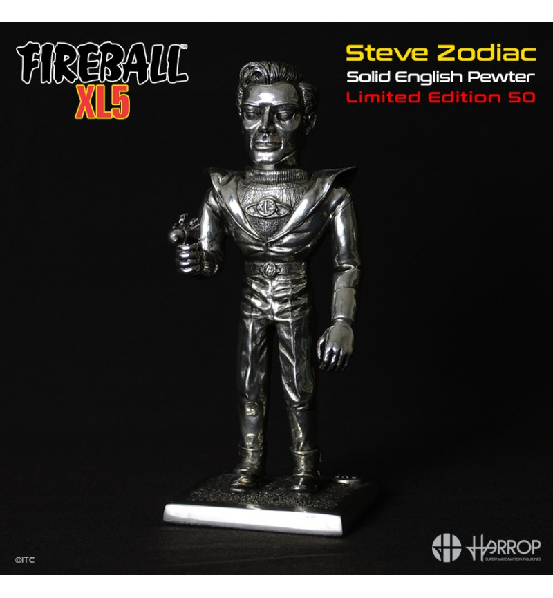 Steve Zodiac - Pewter - L E 50 - Final Few