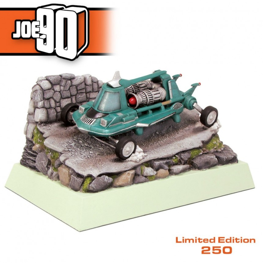 ** Damaged Box Stock ** - Mac's Jet Air Car - Joe 90 - L.E 250