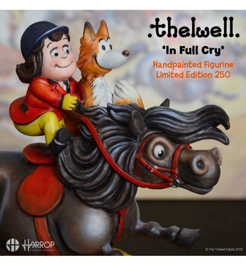 Thelwell – In Full Cry – Limited Edition 250