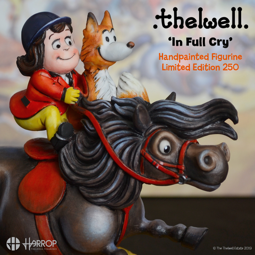 Thelwell – In Full Cry – L.E.250