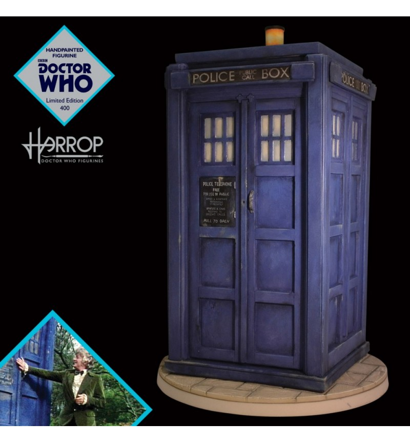 TARDIS (1974), Doctor Who Figurine