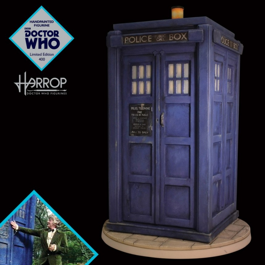 * DAMAGED BOX * - TARDIS (1974)