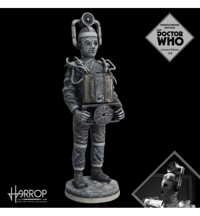 Cyberman - The Tenth Planet (1966) - Monochrome