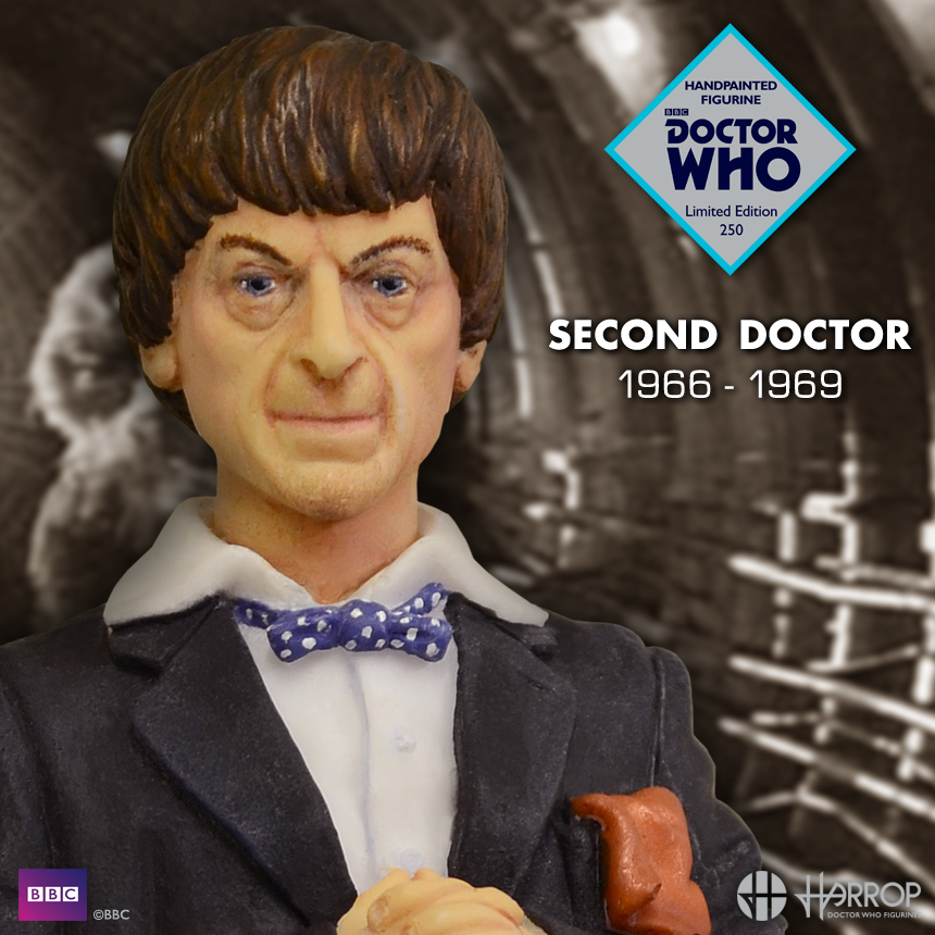 Patrick Troughton - The 2nd Doctor - LE 250