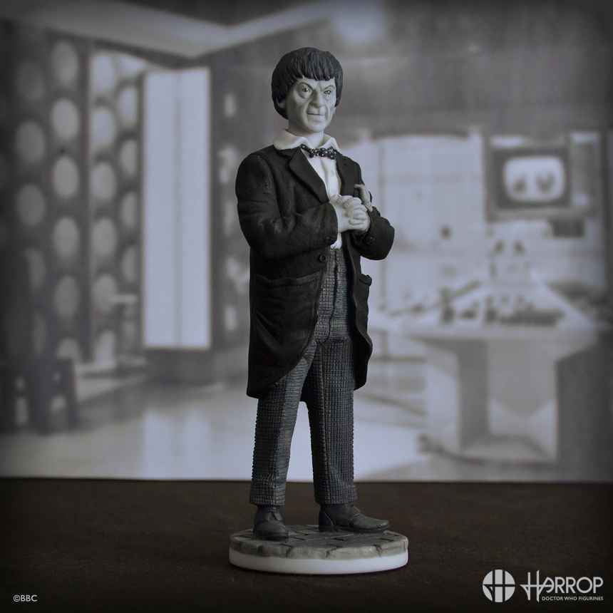 2nd Doctor - L.E. 100 Monochrome Edition