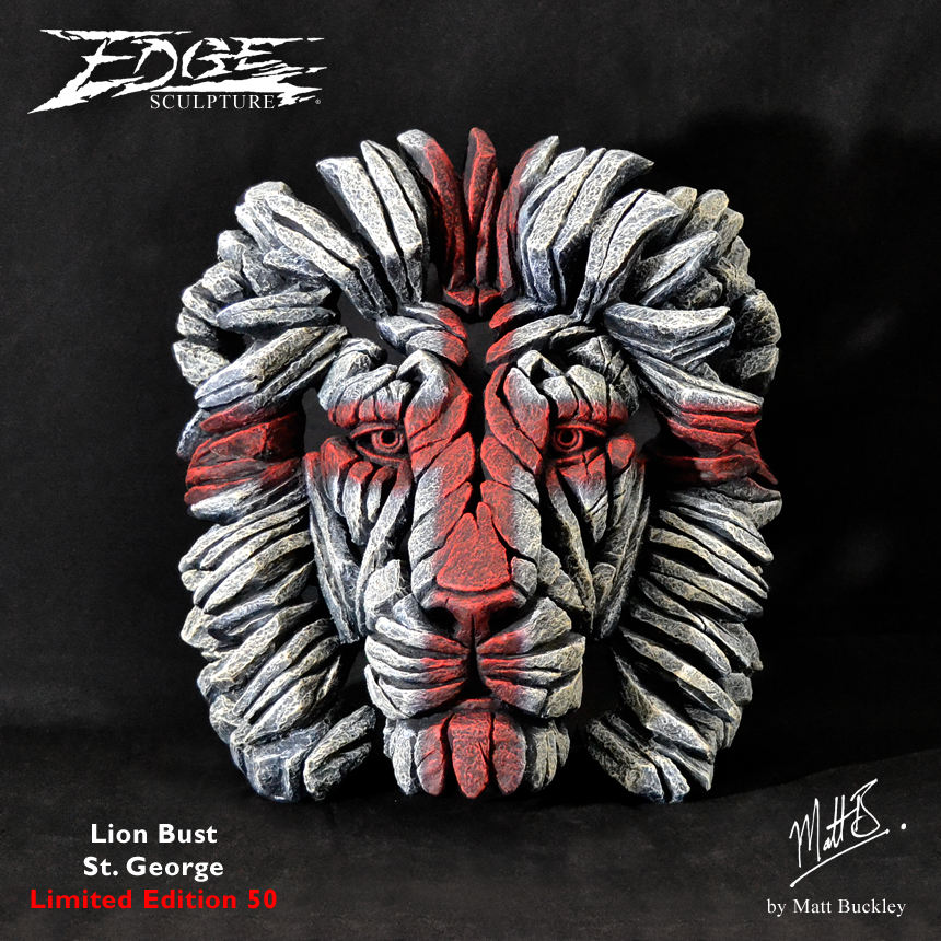 England Lion Bust - Limited Edition 50