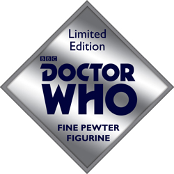Doctor Who Pewter Logo